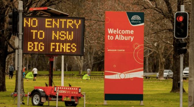COVID : MELBOURNE ISOLÉE DU RESTE DE L'AUSTRALIE