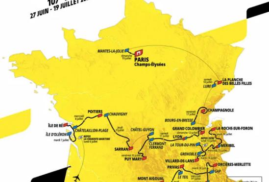 LE TOUR DE FRANCE S'ÉLANCE DE NICE DANS 5 JOURS