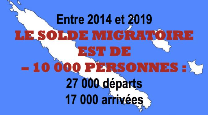 17 300 PERSONNES SONT ARRIVÉES EN CALÉDONIE entre 2014 et 2019