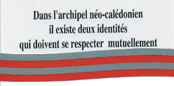 L'IDENTITÉ DES «NON KANAK» EN QUESTION