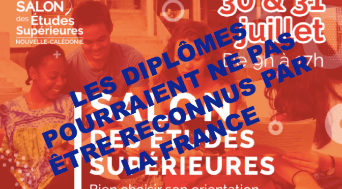 SALON DE L'ÉTUDIANT : L'INFORMATION N'EST PAS COMPLÈTE