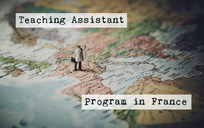 the teaching assistant program in france, also known as TAPIF
