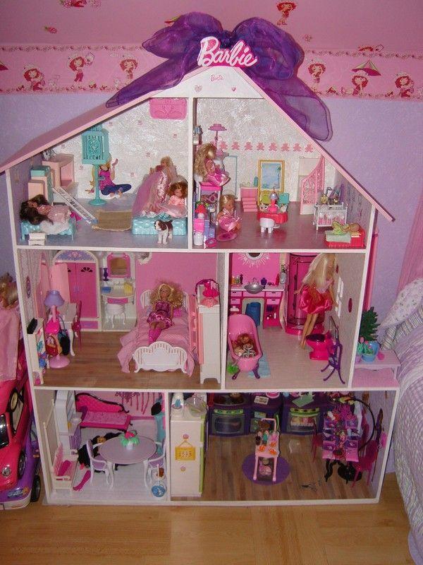 Maison Barbie Pour Ma Fille
