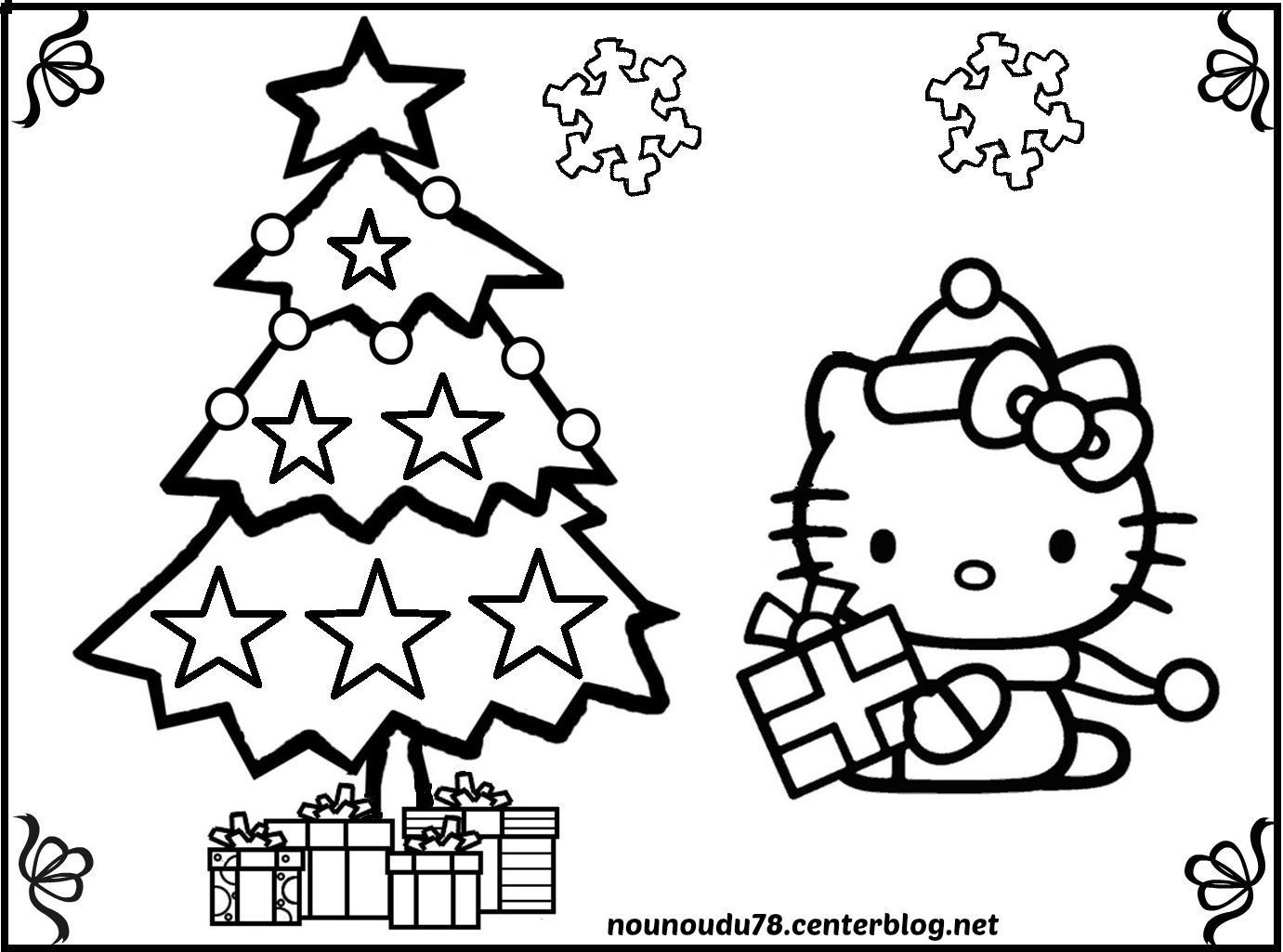Coloriages De Noel