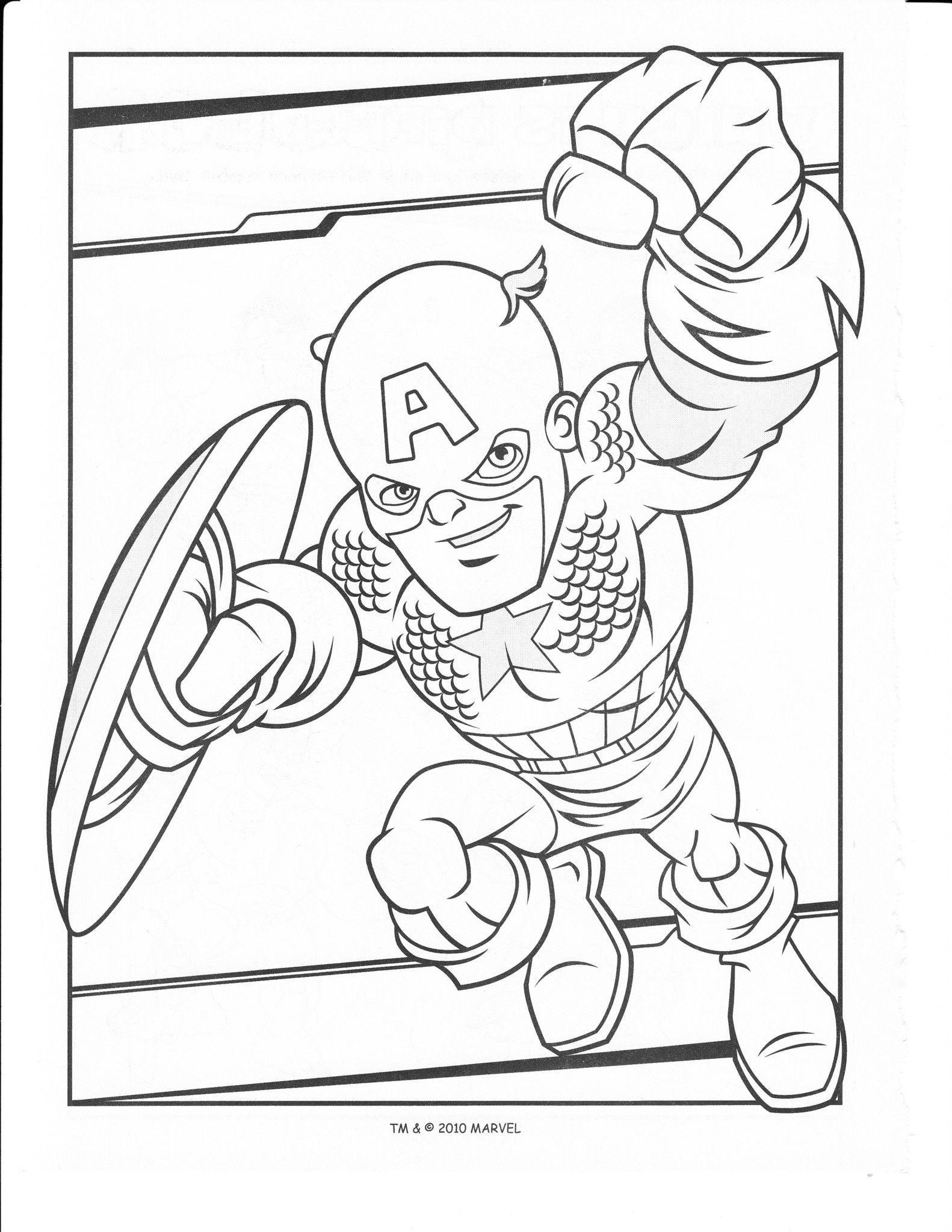 Coloriages Super Heros