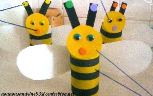 activité manuelle : animaux : insectes : abeille