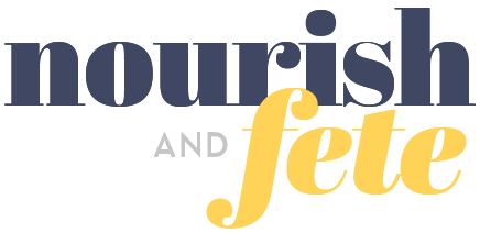 Nourish and Fete Logo