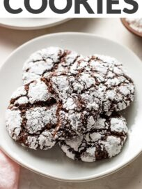 Chocolate crinkle cookies are a beloved Christmas tradition. Add a simple secret ingredient to make yours stand out from the rest!
