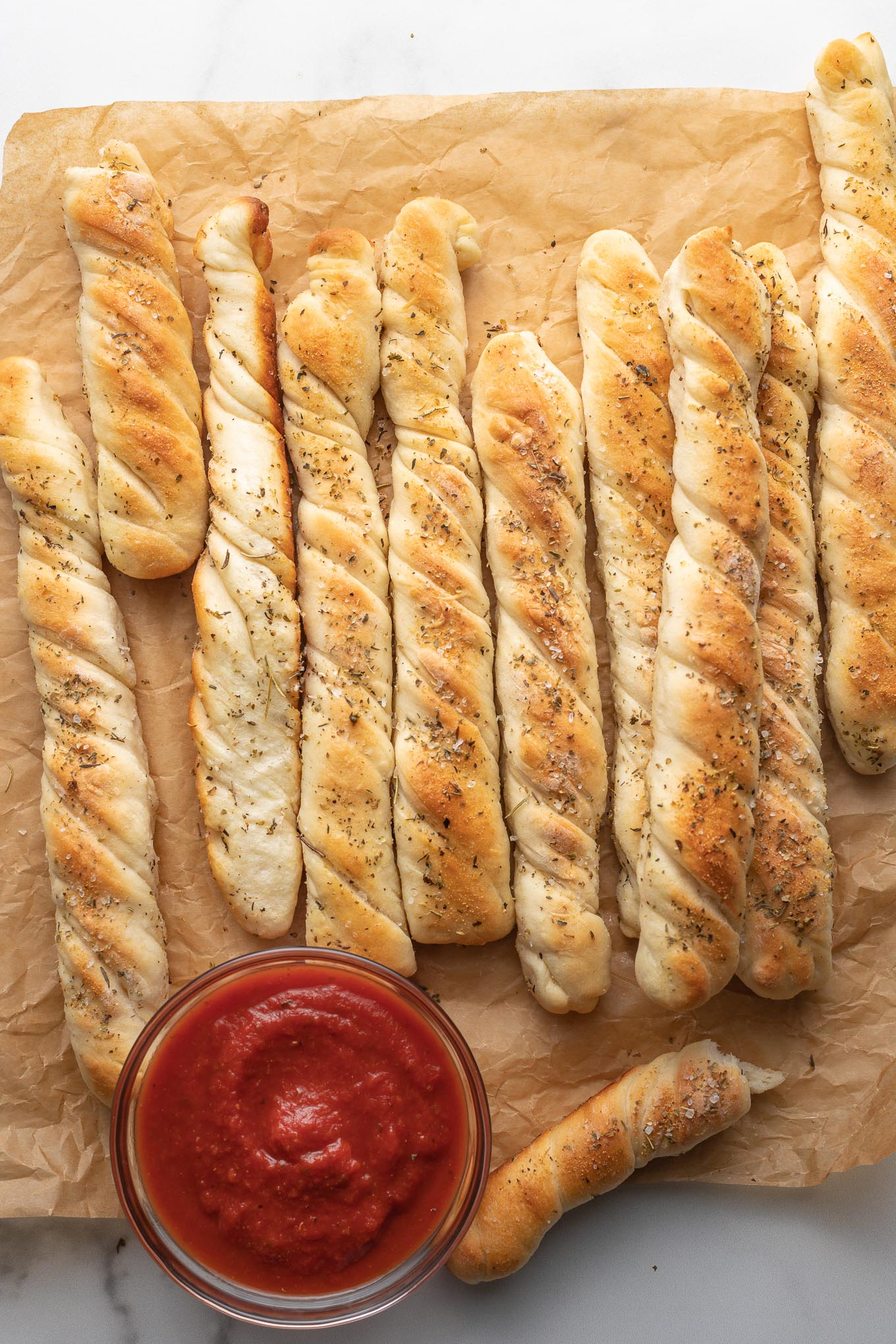 How To Make Breadsticks In 1 Hour Nourish And Fete