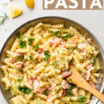 If you're looking to impress for date night or dinner guests, this creamy pasta with smoked salmon recipe tastes special but is easy for even the beginner cook. #smokedsalmon #pastarecipe