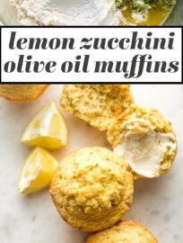 Healthy lemon zucchini muffins are incredibly delicious, with a light crumb and fresh lemon flavor! This is the BEST way to use that garden fresh zucchini!
