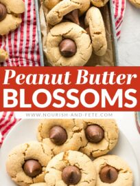 Make the best ever peanut butter blossoms with this quick, easy-to-follow family recipe!