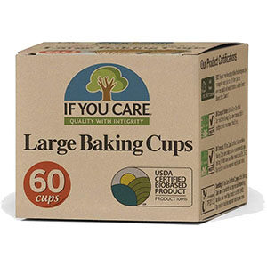 If You Care large baking cups.