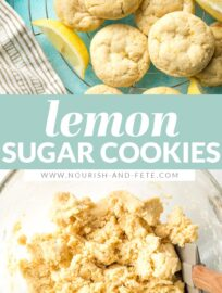 Lemon Sugar Cookies are simple yet irresistible, with light citrus flavor and buttery soft texture. Made in ONE bowl with everyday ingredients.