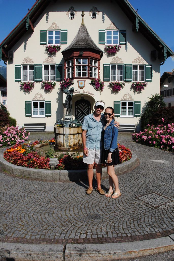 kate and terry in st gilgen