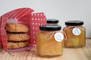 Rum Spiced Pear Jam and Gingerbread Scones