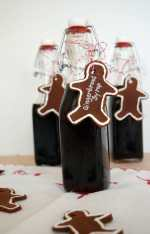 Gingerbread Syrup at www.nourishandnestle.com