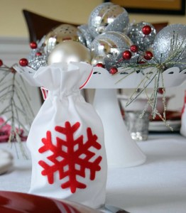 Ornament Gift Bag and Holiday Traditions