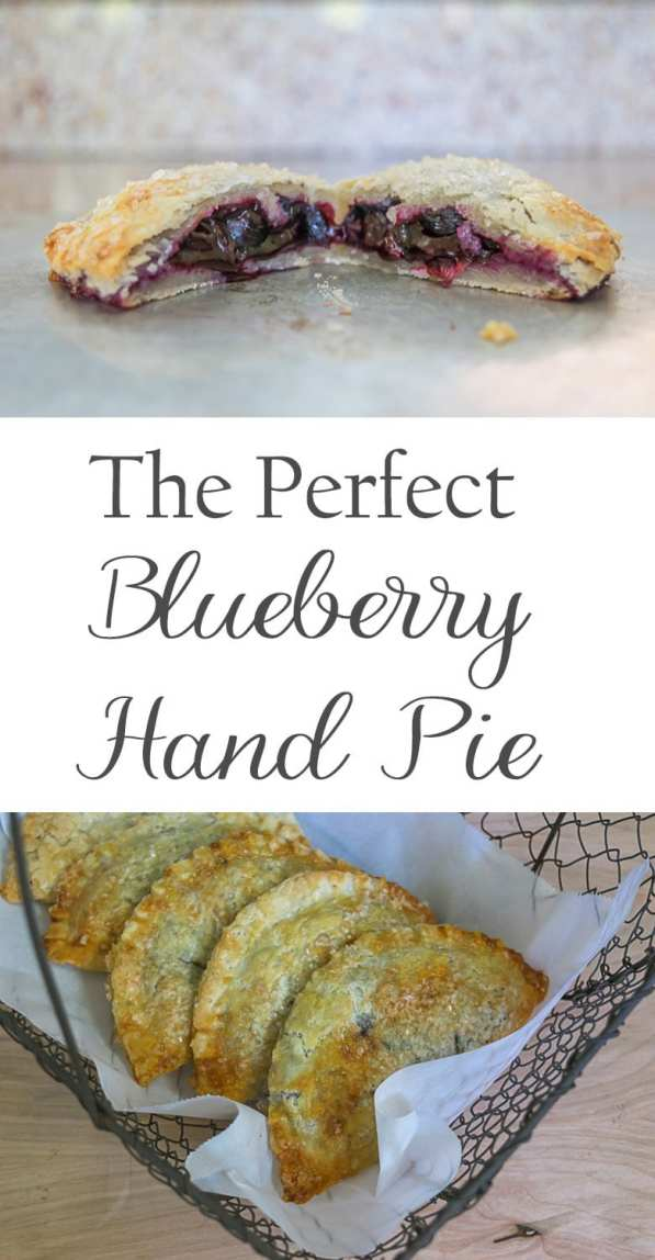 Need a recipe for the perfect hand pie? Look no further, this hand pie has a delicate and flaky crust that is sturdy enough to hold the delicious blueberry filling. Tips for perfect hand pies.