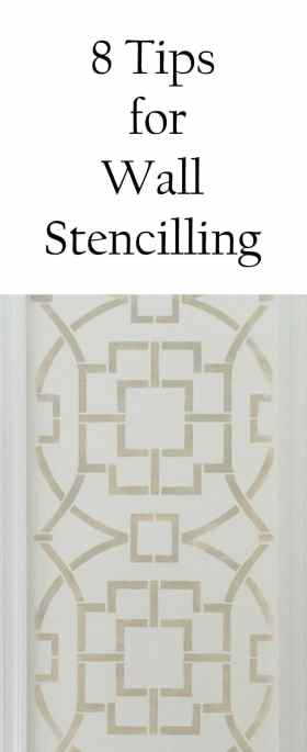 8 Tips for Successful Wall Stencilling