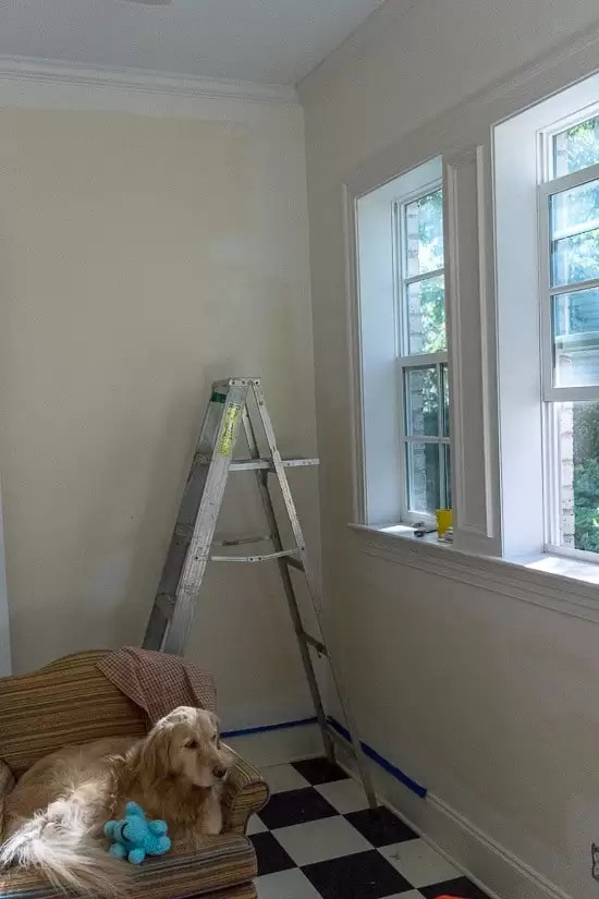 room-being-painted