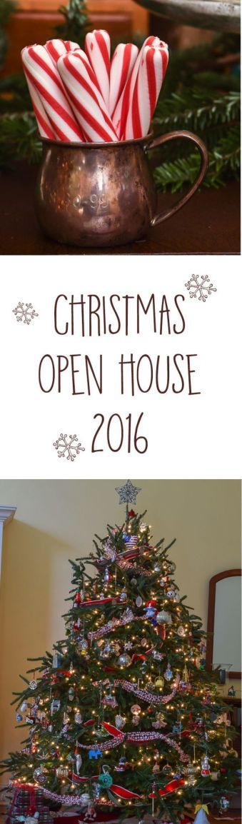 Looking for Christmas decor inspiration? Christmas 2016 Open House Tours with lots of great decor ideas and links to more home tour..