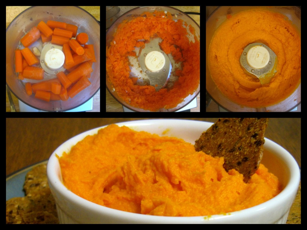 Steps to make Creamy Carrot Spread in a food processor