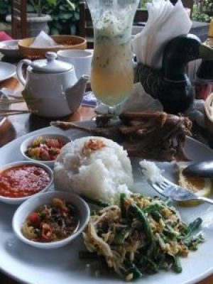 A feast in Bali