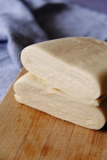 pâte feuilletée rapide avec un vrai feuilletage