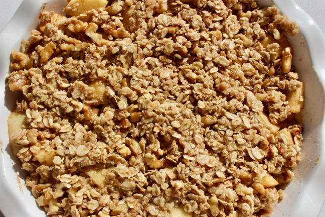apple pie crisp