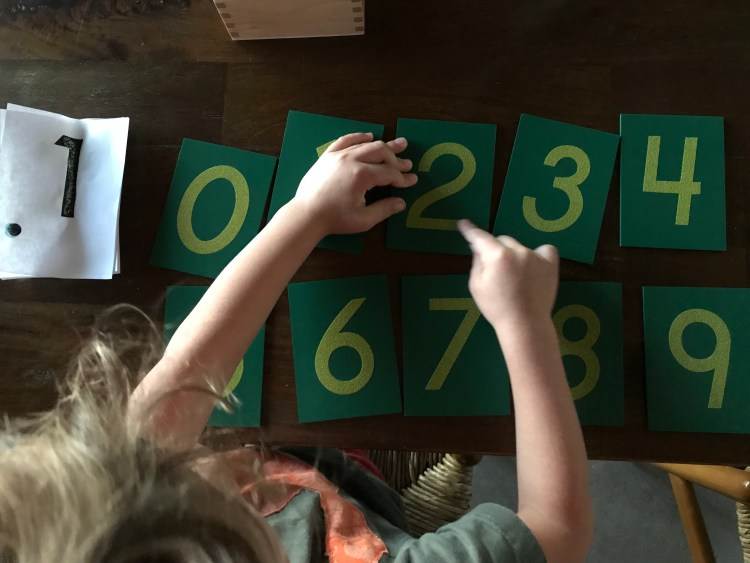 Tactile Numbers