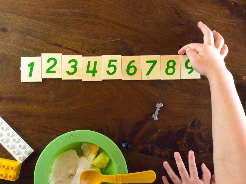 Counting and Math