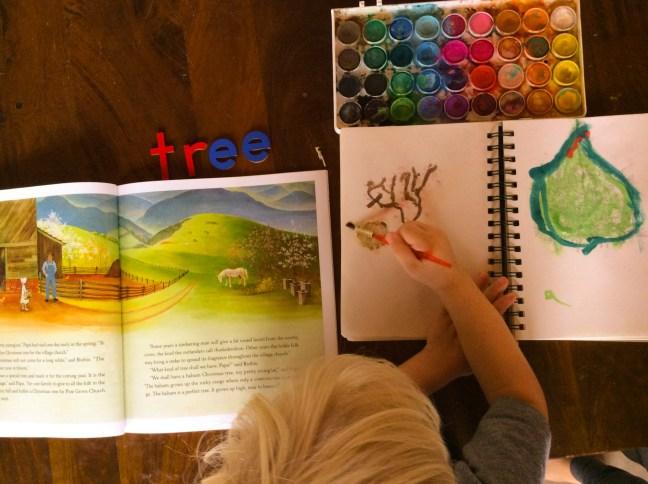 Winter Tree Study
