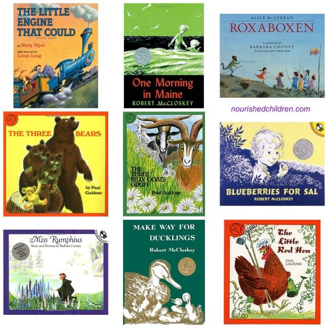 Charlotte Mason Preschool Books