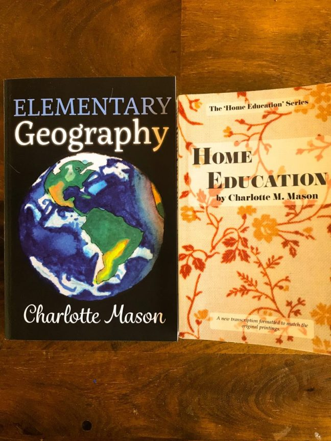 A Charlotte Mason Geography Lesson