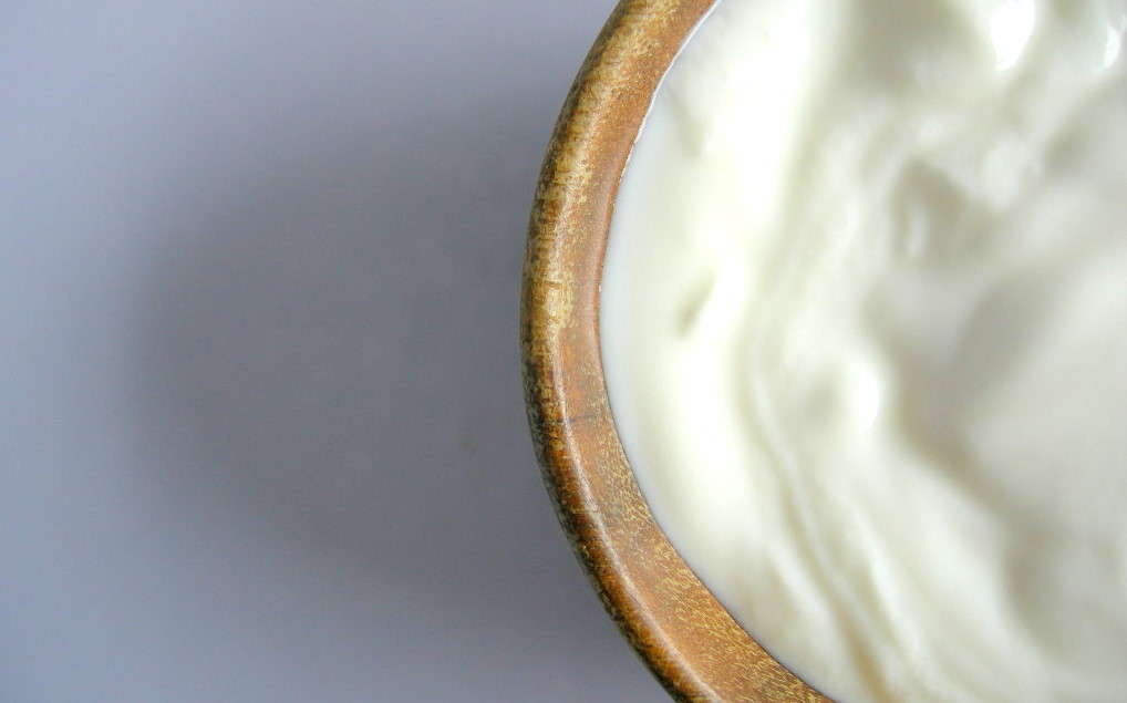 raw milk yogurt