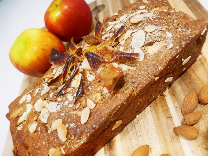 Spiced Apple Loaf : Vegan, Gluten Free