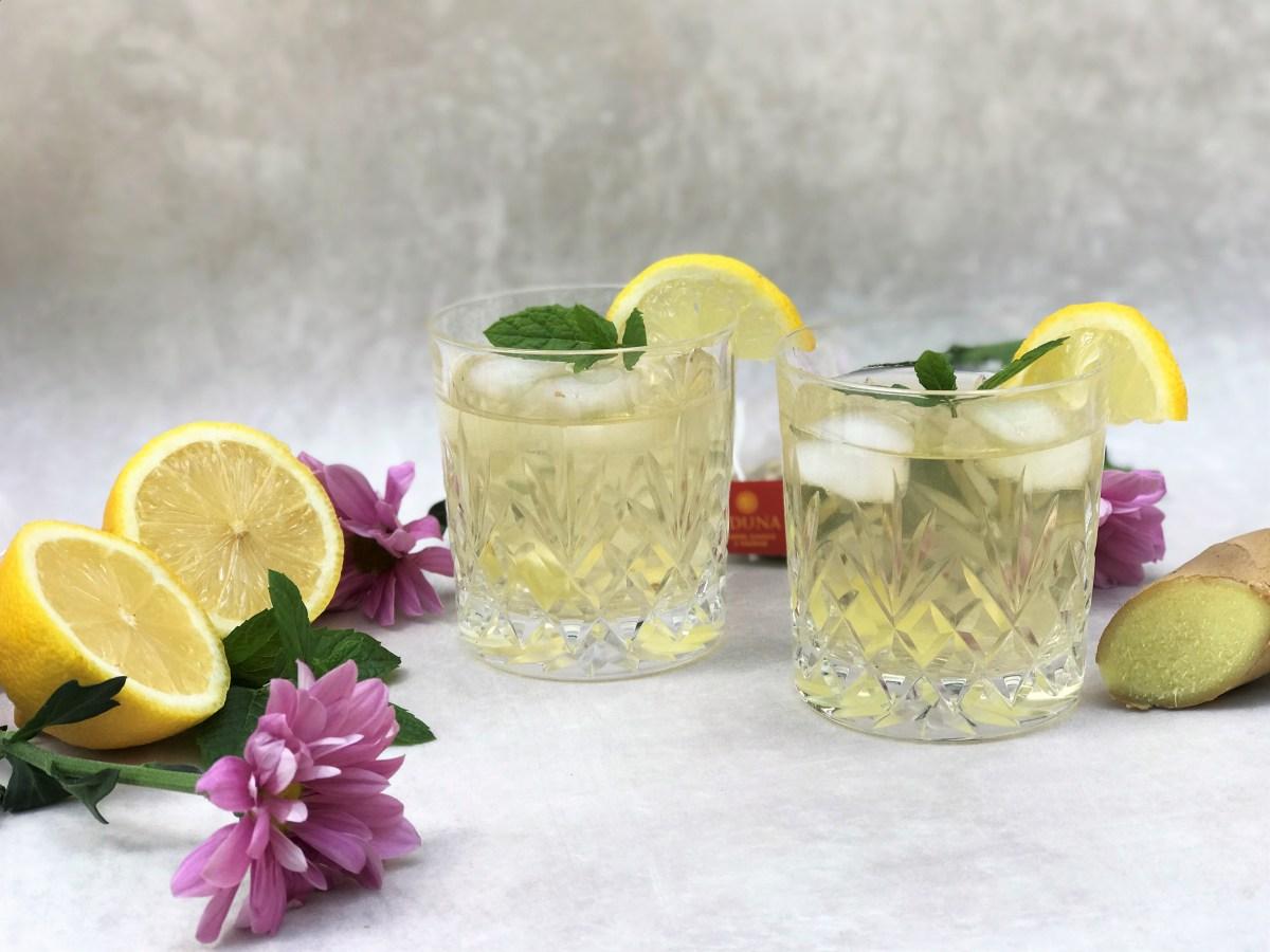 Vitality Lemon Ginger and Baobab Iced Tea