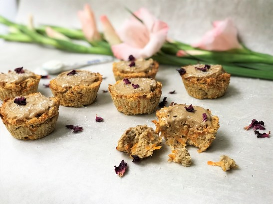 Carrot Cake Cup-Scone