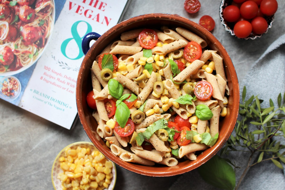 Perfect Pasta Salad - The Vegan 8