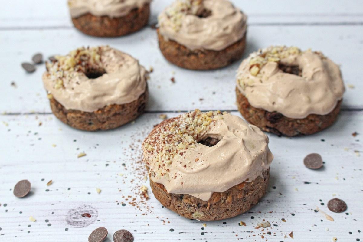 Tiramisu Chocolate Chip Donuts
