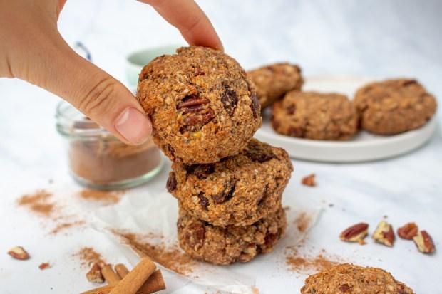 Sultana and Pecan Pumpkin Pie Spice Cookies