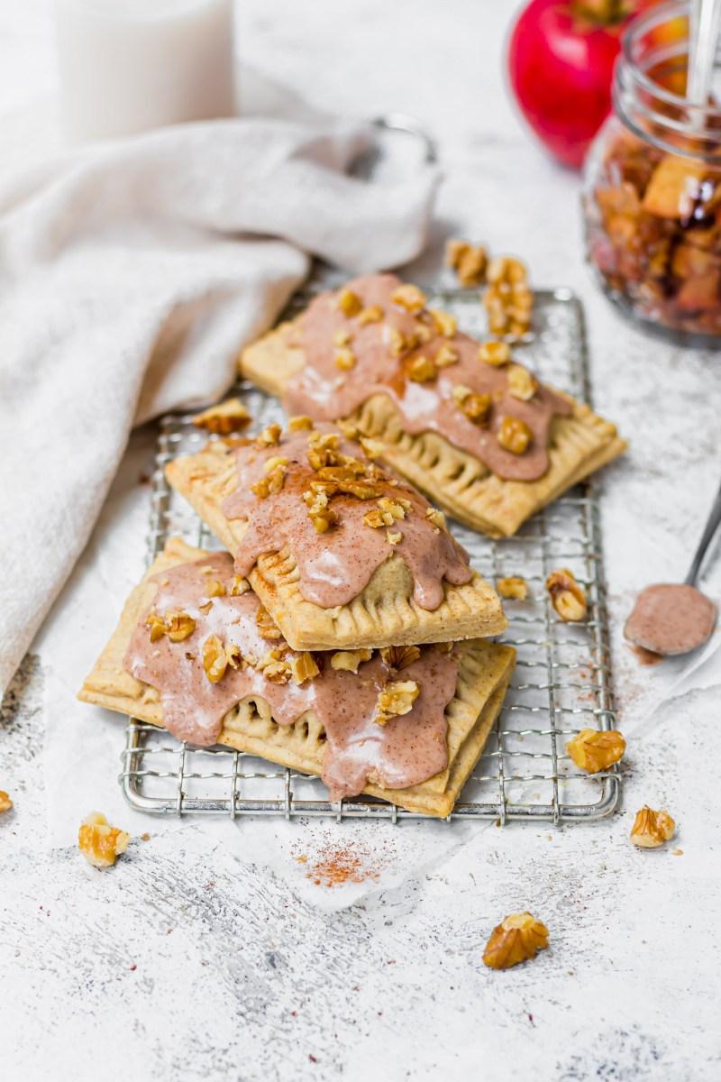 Apple Walnut Cinnamon Pop Tarts
