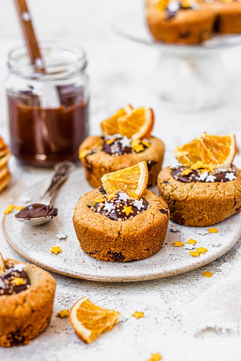 Chocolate Orange Cookie Cups