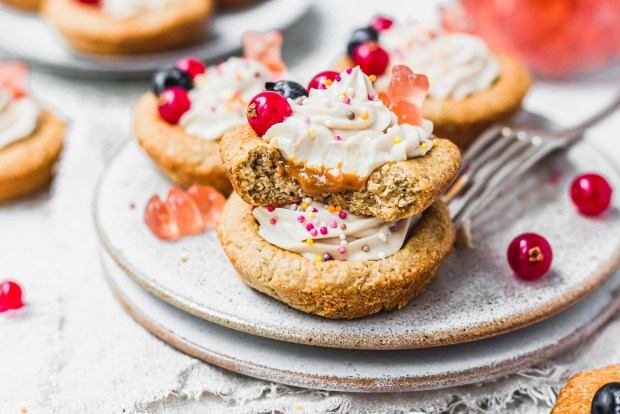 Peanut Butter Protein Cookie Cups