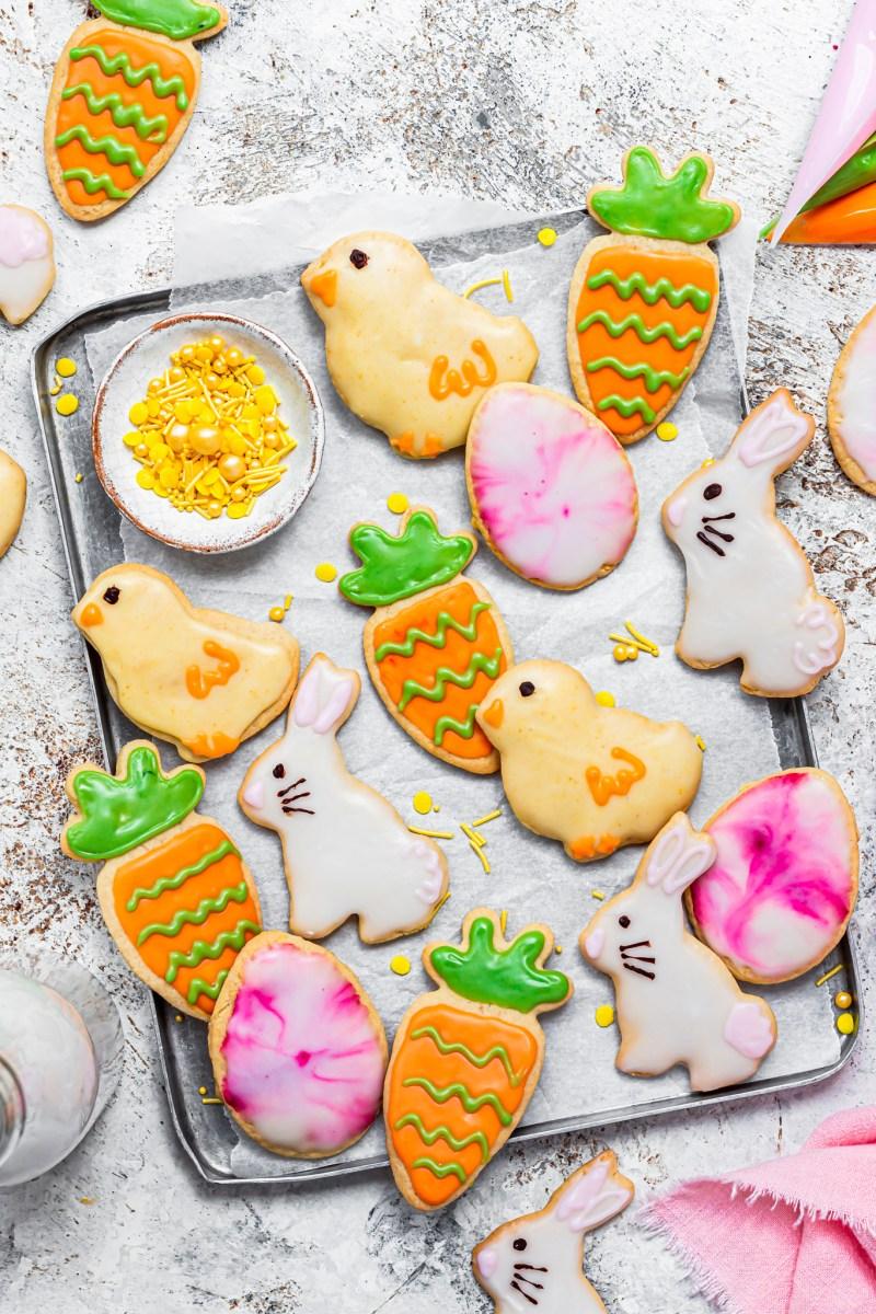 Vegan Easter Sugar Cookies