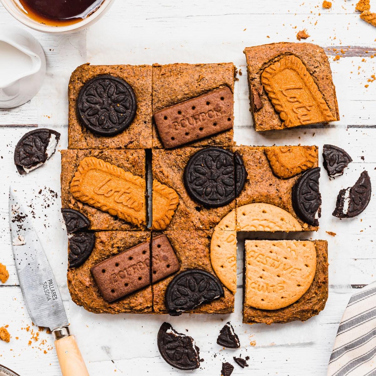 Tea and Biscuit Blondies