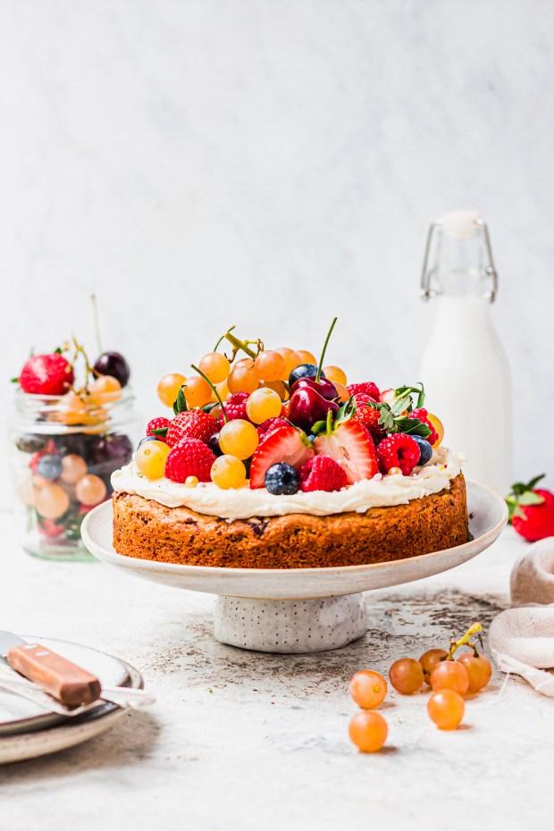 Vegan Fruit Cake