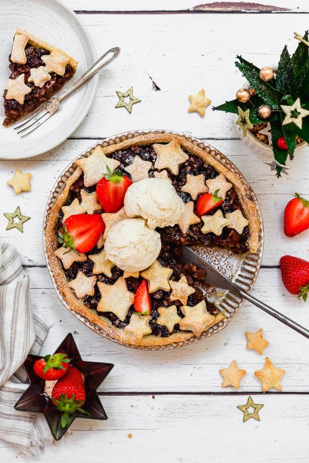 Strawberry Mince Pie Tart