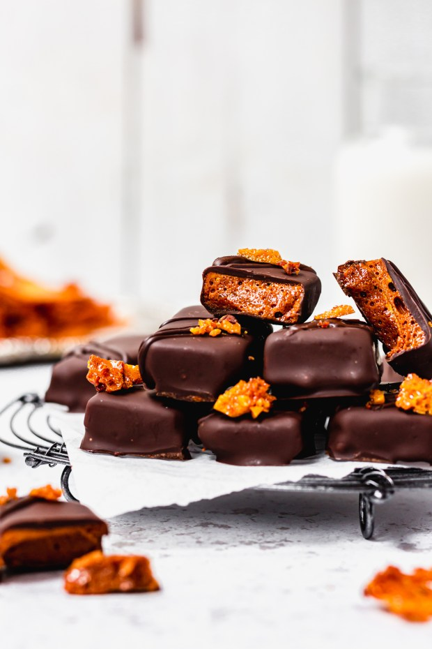 Vegan Chocolate Honeycomb